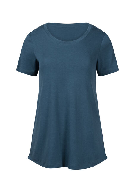 Women's Drapey Scoop Neck Tee