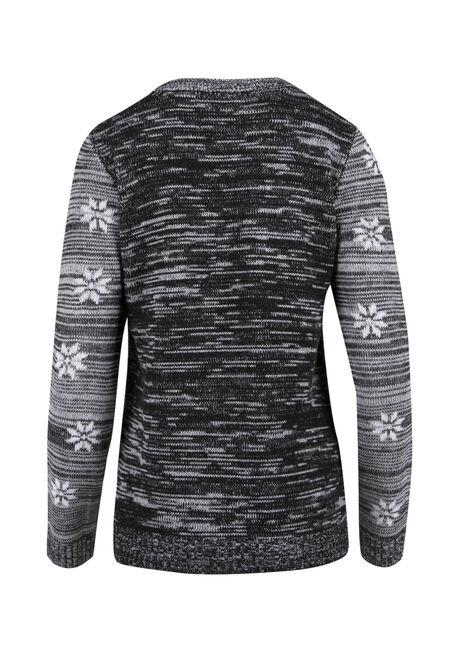 Ladies' Baahumbug Sweater, GREY MARL, hi-res