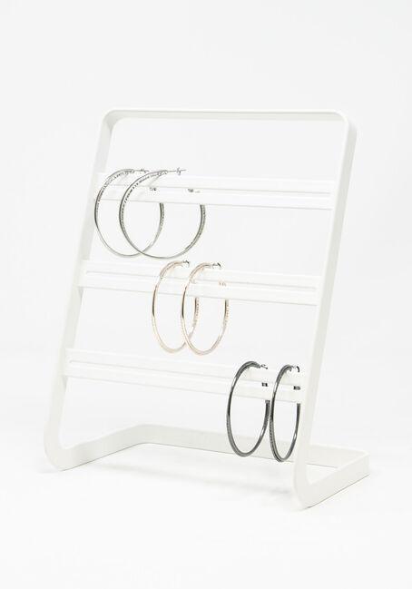 Women's 3 pack hoop earring set