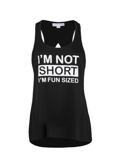 Ladies' Not Short Fun Sized Tank