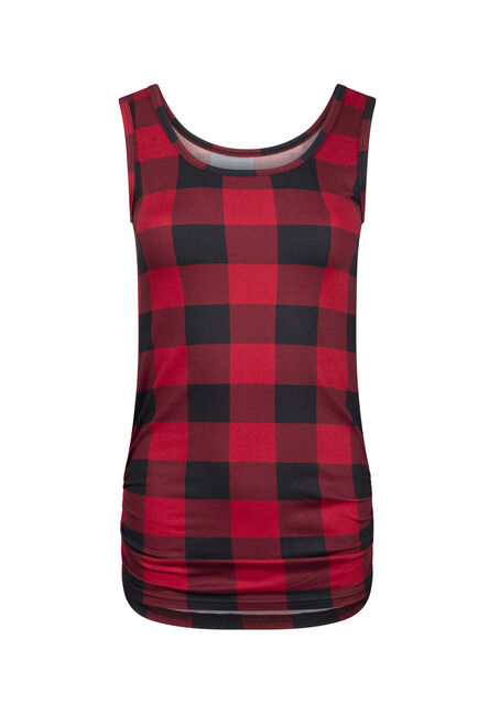 Women's Buffalo Plaid Super soft Tank