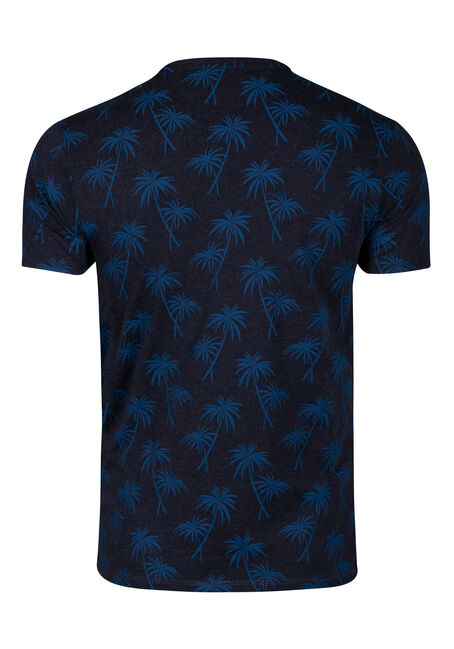 Men's Tropical Tee, NAVY, hi-res
