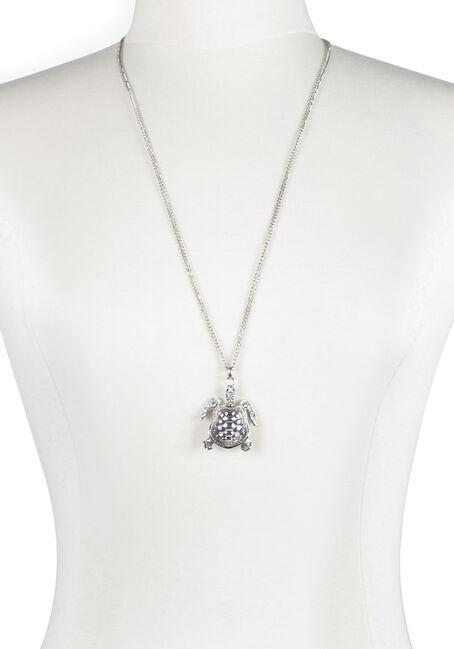 Ladies' Turtle Pendant Necklace