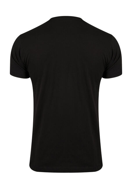 Men's Hunting Tee, BLACK, hi-res