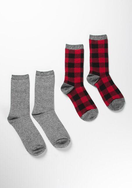 Women's Buffalo Plaid Socks