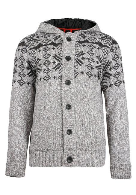 Men's Nordic Sweater Jacket