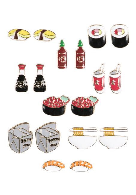 Ladies' Sushi Earring Set