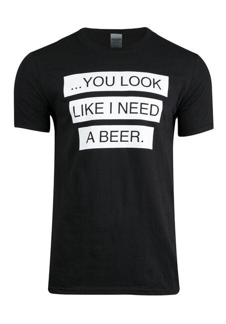 Men's Need A Beer Tee