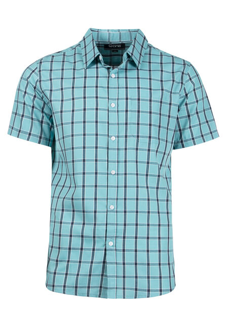 Men's Checkered Plaid Shirt