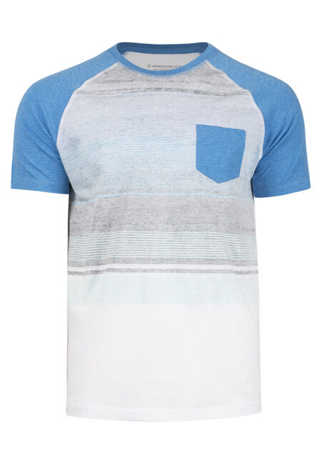 Men's Everyday Striped Pocket Tee