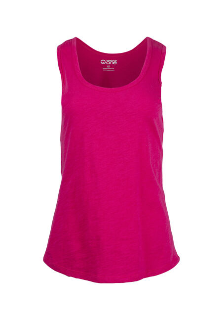 Women's Scoop Neck Slub Tank