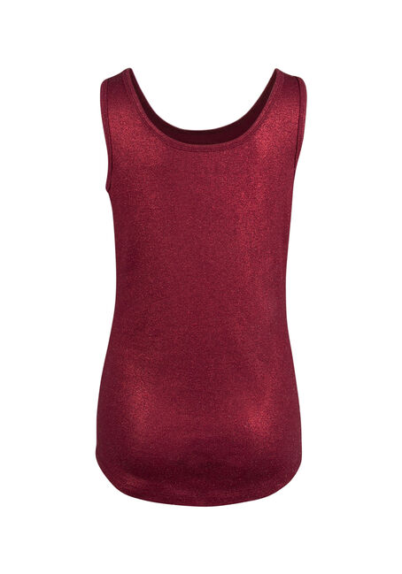 Ladies' Shimmer Tank, TRUE RED, hi-res