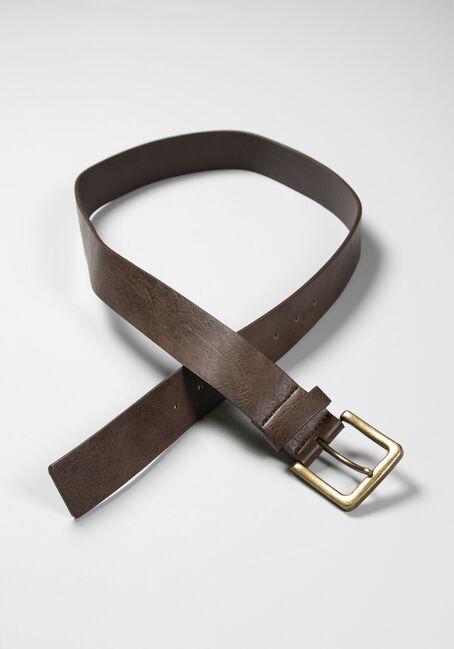 Men's Essential Brown Belt
