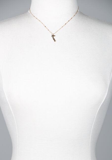 Brave Pendant Necklace