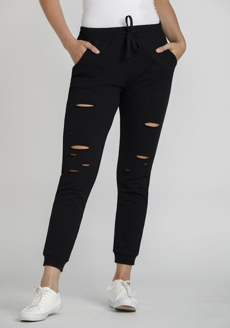 Women's Distressed Jogger