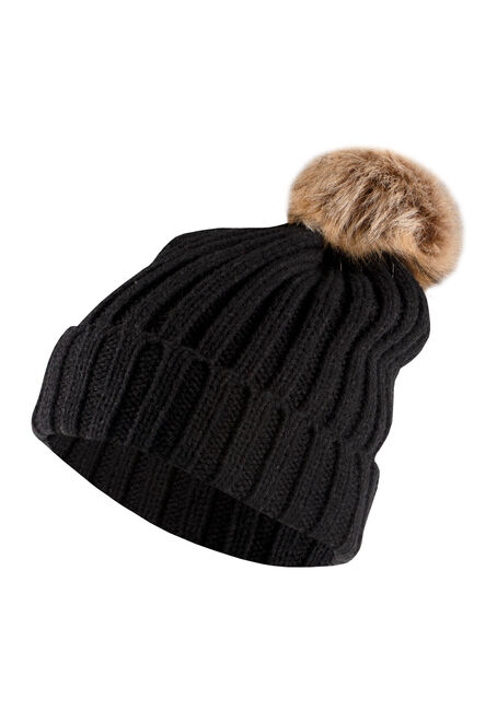 Women's Oversized Pom Hat