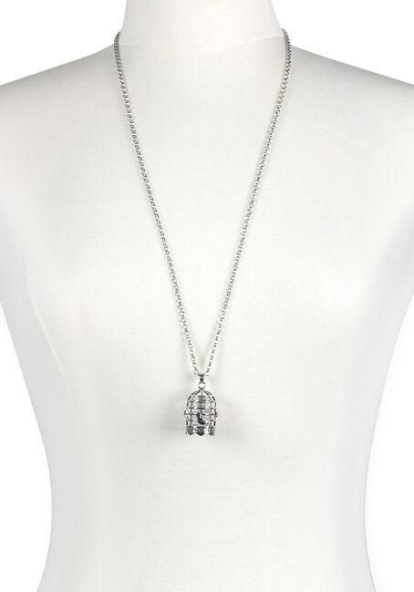 Women's Birdcage Necklace