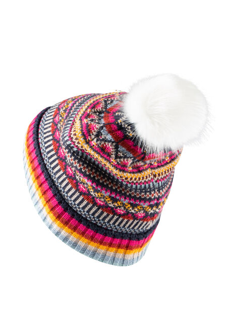 Women's Multi Colour Hat, MULTI, hi-res