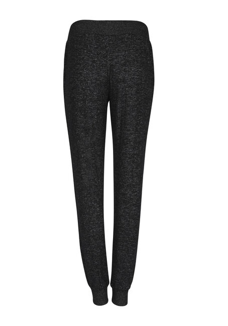 Ladies' Textured Jogger, CHARCOAL, hi-res