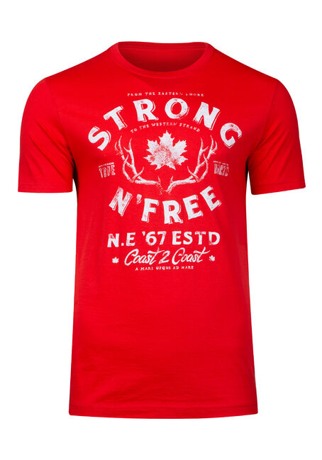 Men's Strong & Free Canadiana Tee
