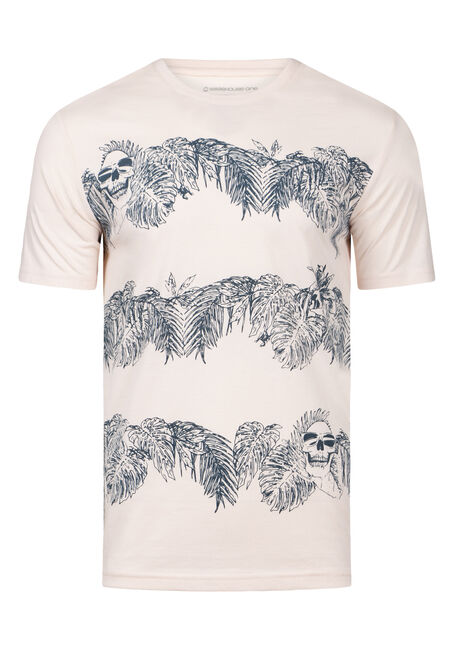 Men's Everyday Tropical Crew Neck Tee
