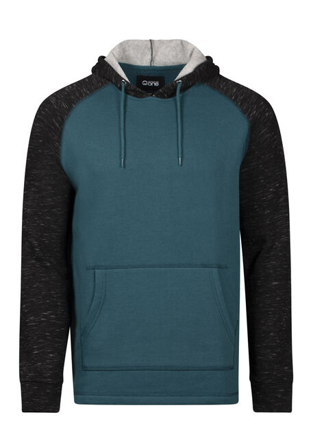 Men's Colour Block Hoodie