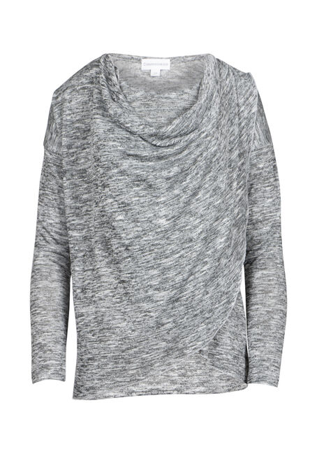 Women's Cowl Neck Wrap Top