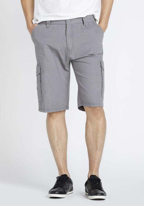 Men's Cargo Short, GREY, hi-res