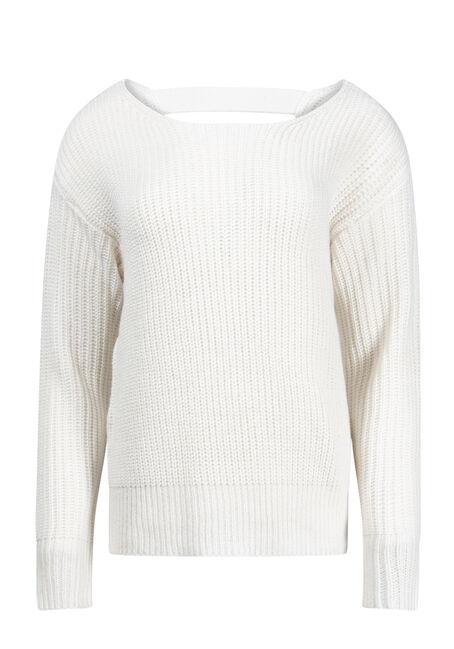 Women's Twist Back Sweater