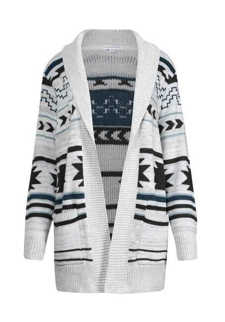 Women's Aztec Pattern Cardigan