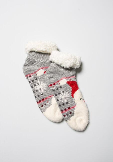 Women's Festive Slipper Socks