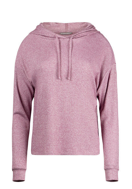 Women's Hooded Rib Top