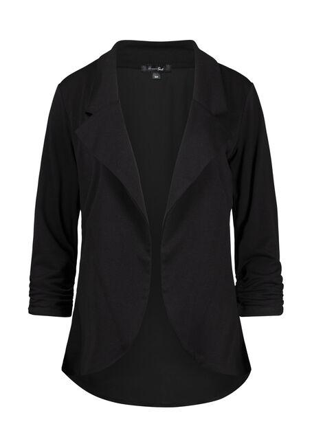 Women's Chiffon Back Blazer