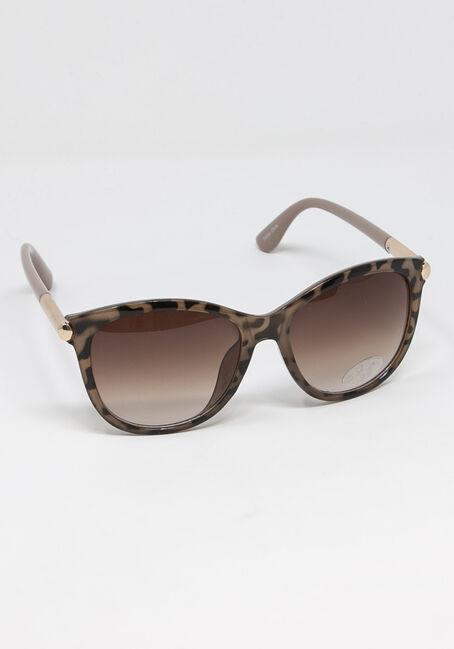 Women's Pink Frame Tort Sunglasses