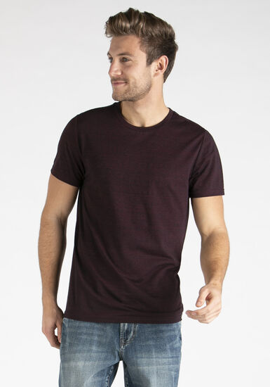 Men's Everyday Space Dye Tee, HOLLY BERRY, hi-res