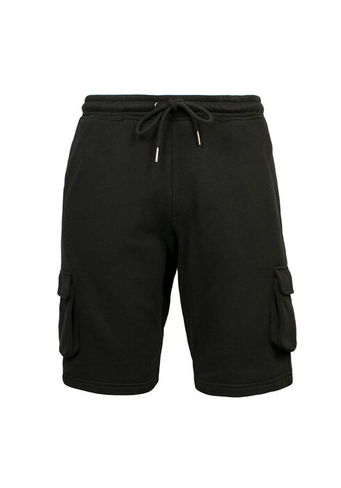 Men's Cargo Short, BLACK, hi-res