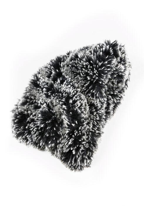 Women's Faux Fur Infinity Scarf, GREY, hi-res