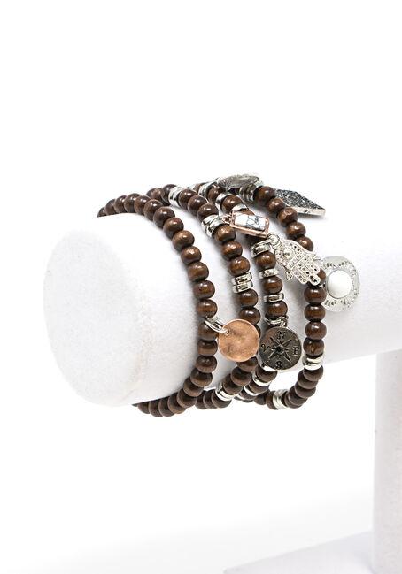 Women's 4 Pair Bracelet Set