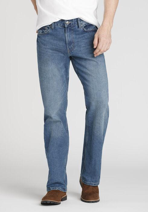 Men's Performance Classic Straight Jeans, MEDIUM WASH, hi-res