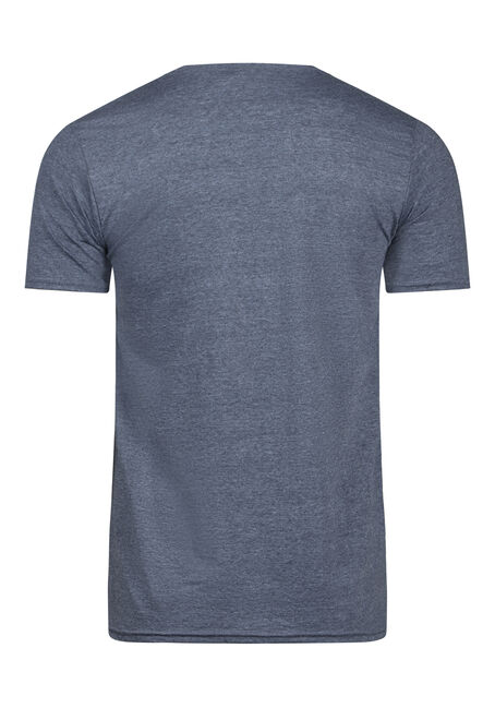 Men's Yes Tee, HEATHER NAVY, hi-res
