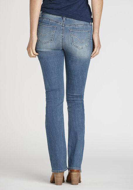 Women's Light Wash Baby Boot Jeans, LIGHT WASH, hi-res