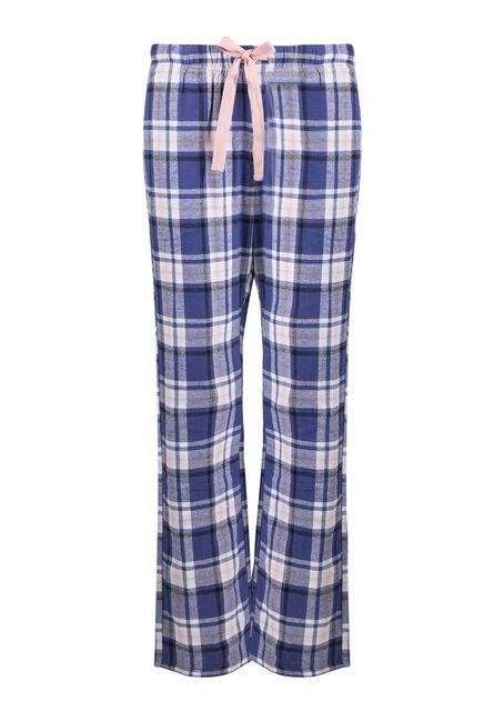 Ladies' Plaid Lounge Pant