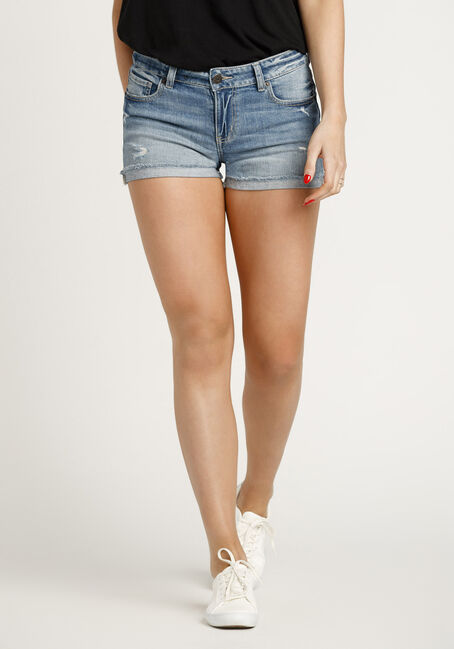 Women's Destroyed Short