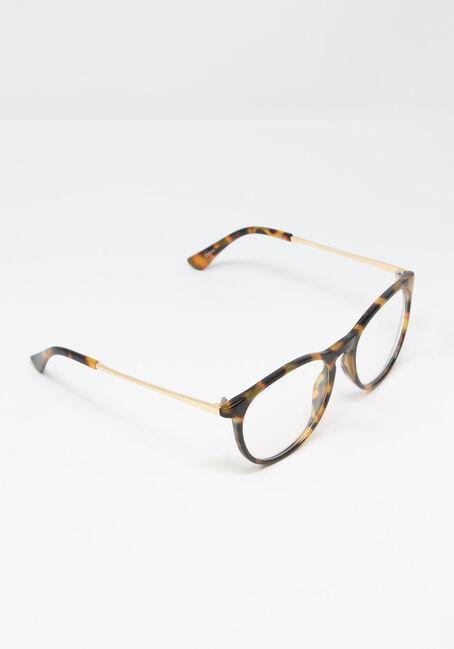 Women's Tortoise Blue Light Glasses, BROWN, hi-res