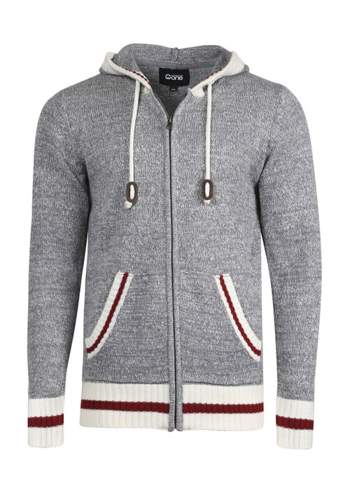 Men's Cabin Sweater, HEATHER GREY, hi-res