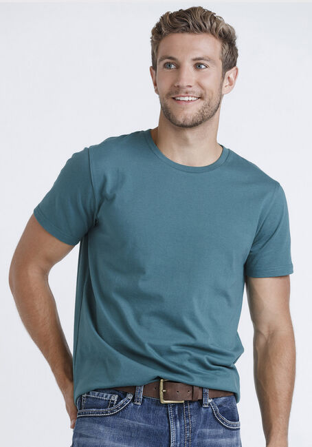Men's Everyday Tee, ALPINE GREEN, hi-res