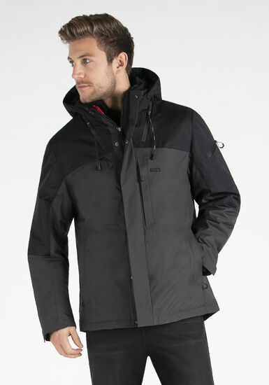 Men's 3-in-1 Systems Jacket, CHARCOAL, hi-res