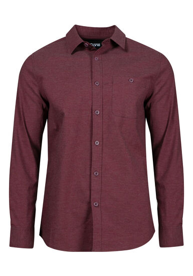 Men's Textured Shirt, VINEYARD, hi-res