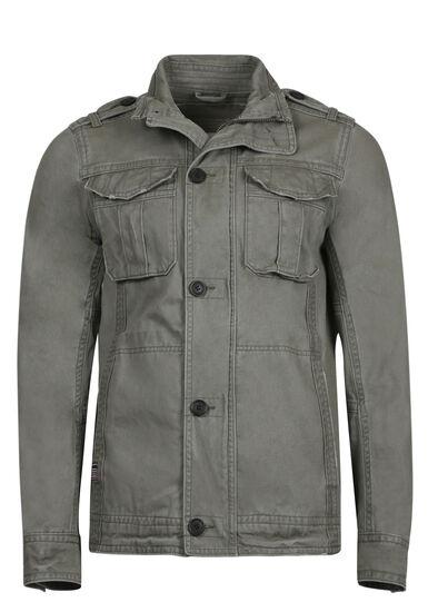 Men's Cargo Jacket, LIGHT OLIVE, hi-res