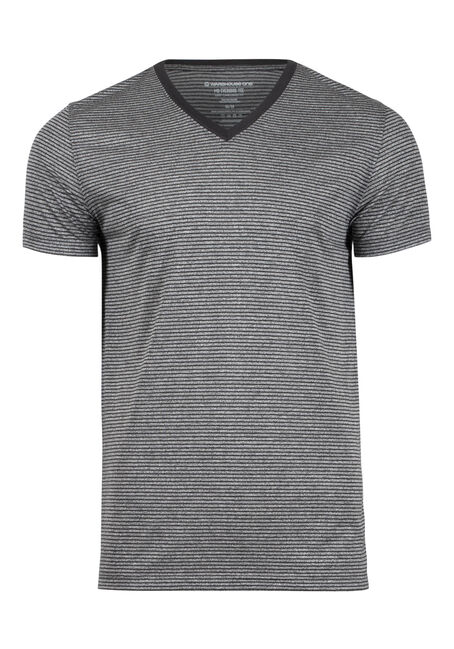 Men's Everyday V-Neck Mini Stripe Tee